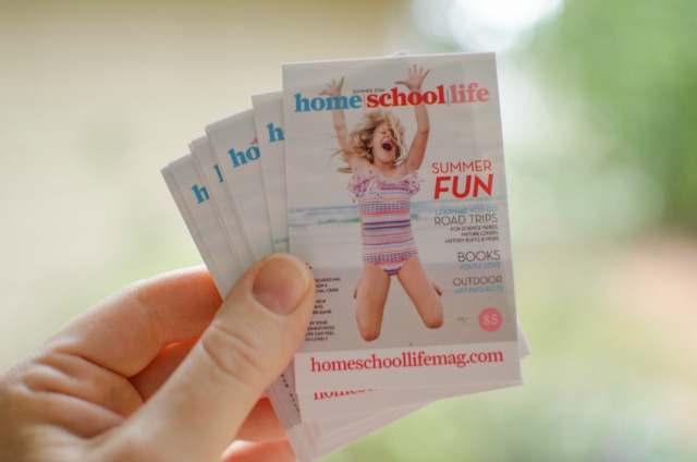 Post image for it's a homeschooling magazine giveaway!